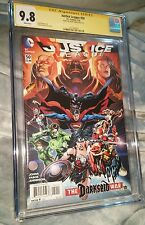 Justice League 50 (3 Jokers Revealed) CGC SS 9.8 signed by Jason Fabok