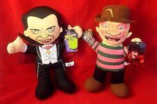 "NWT Freddy Krueger Dracula 14"" Plush 80's Horror Universal Monsters Toy Factory"