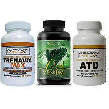 Alphaform Labs Trenavol  90 Caps - Anti Venom OCS 30 Days and Alphaform ATD PCT