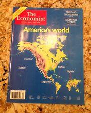 The Economist Magazine America's World Oct. 23-29 1999 Collectible