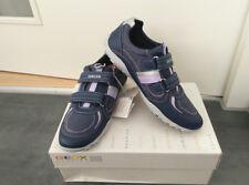 Damen Mädchen Geox Halbschuhe Sneaker Sportschuhe Gr.39 Navy  A