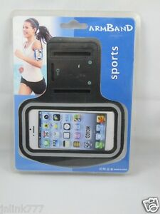 A99:New Sports Armband Case Hold for Android Smartphones-Black