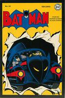 Postcard Art of Vintage DC Comics Batman #20 December 1943
