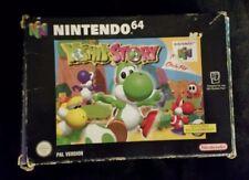 Yoshi's story embalaje original (Nintendo 64, 1998)