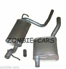 FORD FOCUS MK1 98-04 1.6 CENTRE + REAR EXHAUST SALOON ONLY