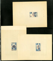 Sudan Stamps 3x Deluxe Sheets Old Time Rare