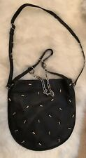 NEW Alexander Wang ROXY HOBO BAG IN BLACK W/ STUDS 3 DIFFERENT CARRYING STYLES