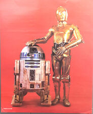 1980 Poster STAR WARS ESB Droids RED Proctor & Gamble Promo Poster- Unused