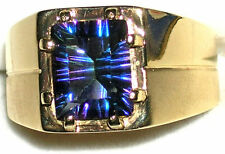 Topaz Solitaire Fashion Rings