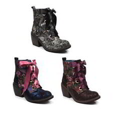Irregular Choice Women's 100% Leather Block Heels for Women