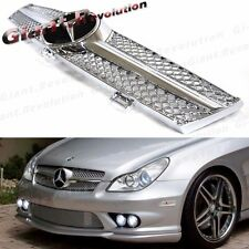 For 04-08 M Benz W219 CLS550 CLS500 CLS350 Chrome Fin A Style Front Hood Grille