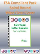 SFBB Safer Food Better Business for Caterers 2018 - FSA Compliant Pack Hygiene