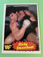 "WWE/WWF 1985 OPC Ricky ""The Dragon"" Steamboat Card"