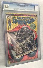 Amazing Spider-Man #113  CGC 8.0 1972 1st Appearance of Hammerhead Marvel
