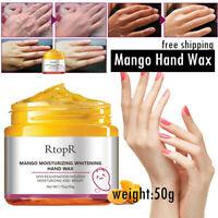 Exfoliate Mango  Hand Cream Peel-Off Hand Wax Mask Treatment Remove Dead Skin