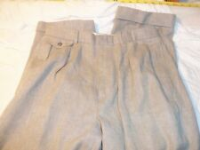 polo by ralph lauren 32 x 27 pleated & cuffs #419