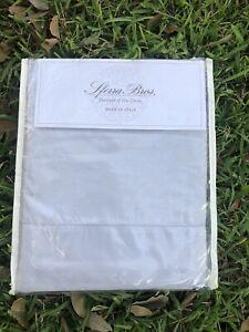 Sferra King ALLEGRO 300 TC Long Staple Cotton Sheet Set Hemstitched Lilac Grey