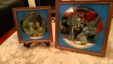 Vintage 1978 Hollie Hobby Picture Mirrors - Excellent Condition
