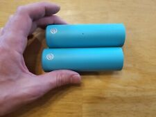 Salt AM BMX Bike Pegs Nylon Outer Sleeves Set Teal