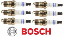 6 X BOSCH OE Fine Wire PLATINUM Power Performance Spark Plugs # 6722