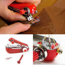 Super Sale Portable Cordless Mini Hand-Held Clothes Sewing Machine Practical