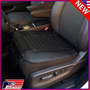 Breathable PU Bamboo Charcoal Car Seat Cushion Cover Pad Mat Protector Pockets P