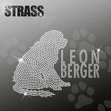 Leonberger M1 CANE APPLICAZIONE FERRO STIRO hotfix 22cm largo