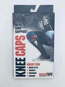 NEW Rocktape Knee Caps X-Small Red XS Rock Tape VMO Support 7mm