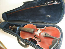FRENCH MARC LABERTE ANTON. STRADIVARIUS 4/4 FACIEBAT ANNO 1721 VIOLIN CASE AND