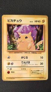 Carta / Pokemon card Pikachu 025 Base Set Japanese