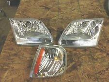 """2000 ford expedition headlight set w/ marker light """" Euro """" 1997-2002"""