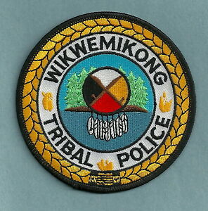 WIKWEMIKONG CANADA TRIBAL POLICE SHOULDER PATCH