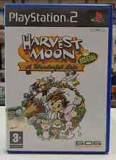 Gioco Game SONY Playstation 2 PS2 Play Station PAL HARVEST MOON Special Ed.