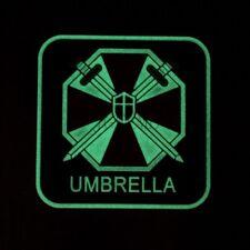 Luminous Resident Evil Umbrella Corporation UBCS 3D PVC Patch Big