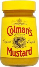 Colmans English Mustard Glass Jar 100g