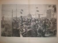 Brighton Seafront Sussex UK 1871 large print