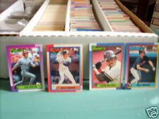 1989-1990 Topps Baseball pick 40 comp. your set ex/nm