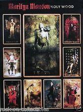 Marilyn Manson 2000 Holy Wood Original Promo Poster