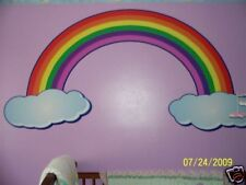 LARGE 6' RAINBOW DECAL childs - kids - nursery - room