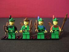 Lego Set of 4 Vintage Forrestmen / Robin Hood?