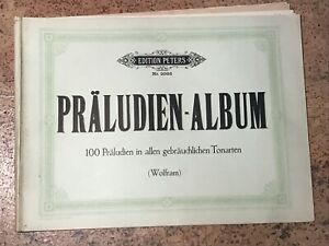 PRÄLUDIEN - ALBUM, Edition Peters Nr. 2086,