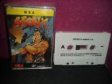 Msx Bronx 1989 msc 728 animagic mcm spain full cover Alfonso Azpiri