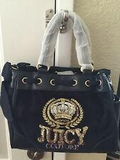 NWT JUICY Couture CREST VELOUR MINI DAYDREAMER
