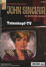 JOHN SINCLAIR special EDITION No. 51 skull TV - Jason dark