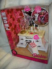 Barbie Fashion Fever Room Vanity Nrfb J0670 Mattel 2005 Beaded Lamp, Vanity etc