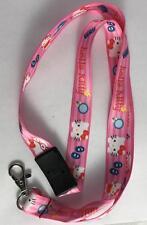 NEW Hello Kitty Lanyard Neck Strap Keychain ID Holder