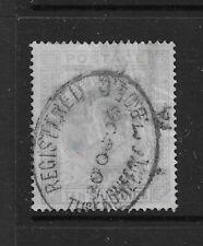 EdVII used 10/- stamp.