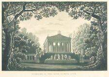 SCHINKEL - BÜHNENBILD - OLIMPIA - Gaspare Spontini - Aquatinta 1847