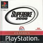SUPERBIKE 2000 PlayStation Game PS1 PS2 PS3