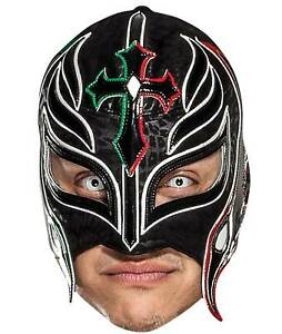 Rey Mysterio WWE Wrestler Official Single 2D Card Party Face Mask - Gutierrez